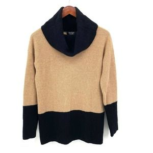 Lord & Taylor Cashmere Turtle Neck Sweater Small